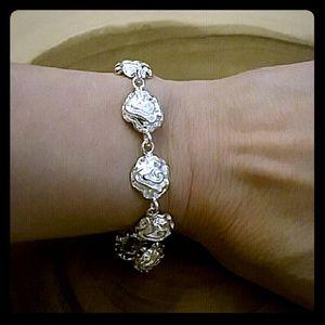 Jewelry - 💟STERLING ROSE BRACELET